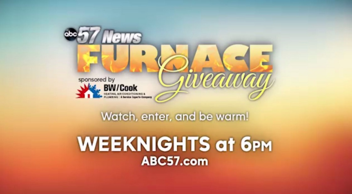 BW/Cook Service Experts Heating and Air Conditioning Furnace Giveaway